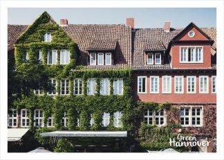 Green Hannover Postkarte Ballhofplatz