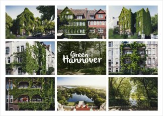 Green Hannover Postkarte Collage 1
