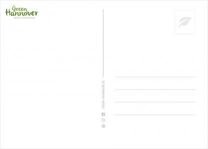 Green Hannover Postkarte Rückseite 1