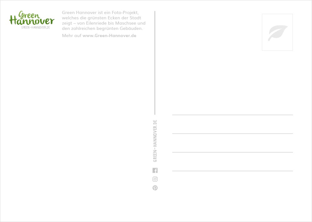 Green Hannover Postkarte Rückseite 2
