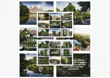 Green Hannover Postkarten 8er-Set Alle Motive