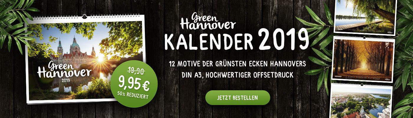 Green Hannover Kalender 50 % reduziert