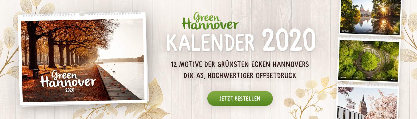 Hannover-Kalender 2020 Green Hannover