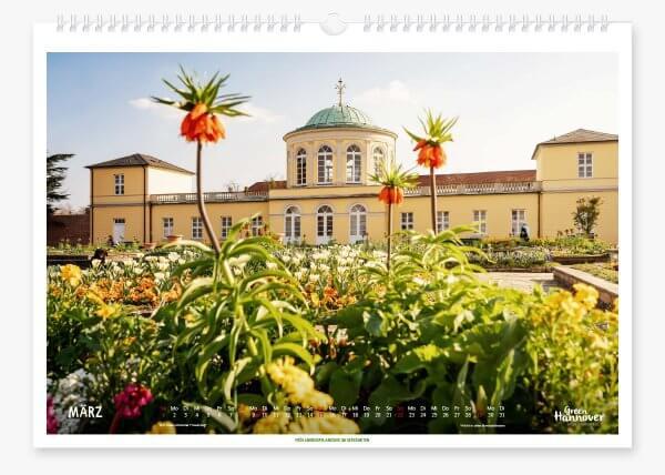 Green Hannover Wandkalender 2020 März