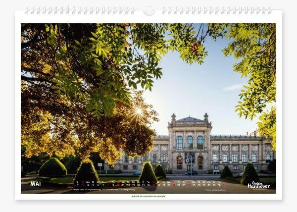 Green Hannover Wandkalender 2020 Mai