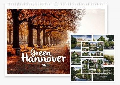 Green Hannover Wandkalender 2020