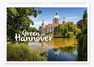Green Hannover Wandkalender 2021