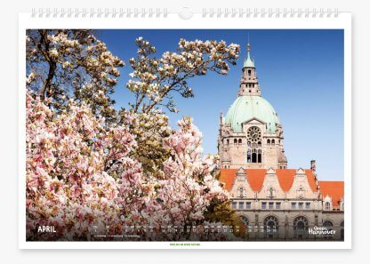 Green Hannover Wandkalender 2021 April