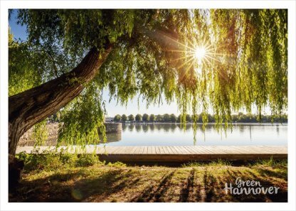 GreenHannover Postkarte Maschsee
